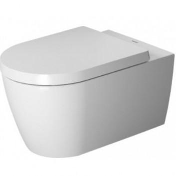 Set WC mit WC-Becken wiszącą Duravit Rimless 56x40x43cm oraz WC-Sitz weiß- sanitbuy.pl