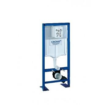 Ciśnieniowy automat spłukujący GROHE Rapid SL WC ścienne, uruchomienie ręczne/elektryczne- sanitbuy.pl