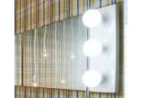 Wandspiegel Flaminia Make-Up montaż poziom/pion, 150 x 100 x 3 cm, nie zawiera lamp- sanitbuy.pl