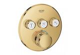 Unterputzarmatur Grohe Grohtherm SmartControl, thermostatisch, 3-Empfänger wody, cool sunrise