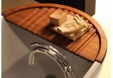 Ablage na wannę Kerasan Aquatech drewniana